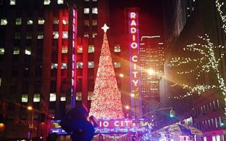 Los árboles de Navidad en New York