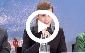 Emma Watson invita a los varones a luchar por la igualdad de género