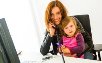 Una buena para las madres que trabajan