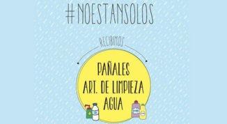 #NoEstanSolos, mucho más que un hashtag