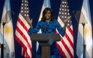"""MICHELLE OBAMA: """"Las mujeres debemos ser líderes de cambio en el mundo"""""""