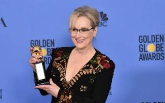 Con un discurso contundente en los Globos de Oro, Meryl Streep lo hizo de nuevo