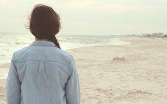 La chica del bañador verde: ¿alguna vez te sentiste así en la playa?