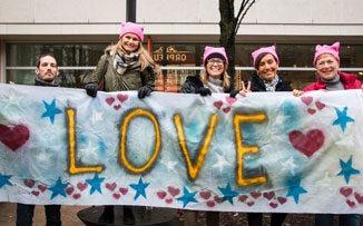 La Marcha de las Mujeres contra Trump, en la voz de sus protagonistas