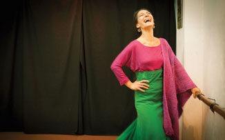 Alas para bailar flamenco