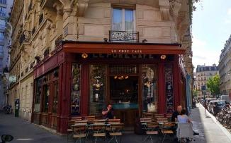 El sutil encanto de tomar café en París