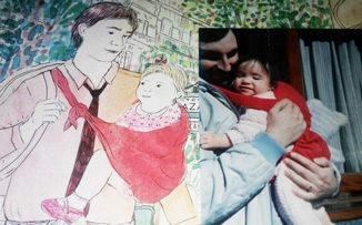 Una tapa y la historia de un papá junto a su hija