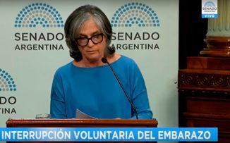 """Cristina Miguens: """"El aborto no es interrumpir, sino terminar con una vida"""""""