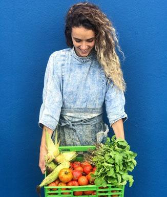 """Teodelina Quesada: """"Todo lo que me lleve a la idea de comida que se comparte, me gusta"""""""