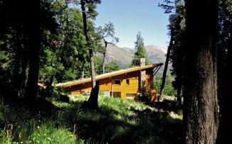 El mágico encanto de las casas de madera