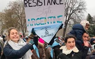 La Argentina celeste, un cisne negro
