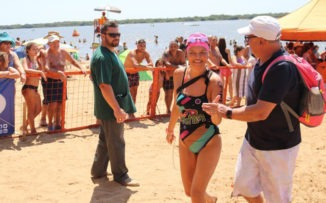 """En primera persona: """"Nadando logré salvar mi vida"""""""