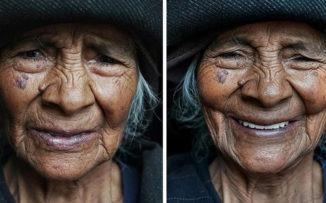 Un fotógrafo retrató a mujeres antes y después de decirles que eran hermosas: ¡el resultado es conmovedor!