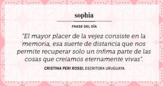 Cita de Cristina Peri Rossi