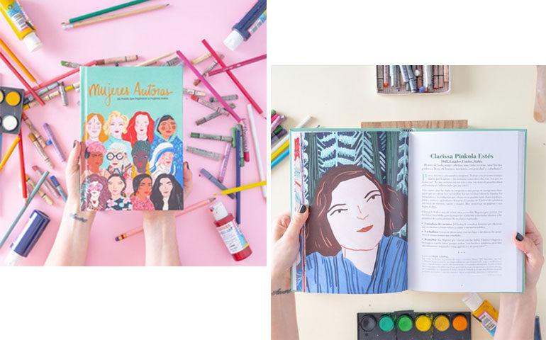 Mujeres autoras, el primer libro editado y publicado por Fera.