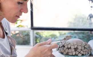 """El alma en las manos: """"La cerámica es mi mejor terapeuta"""""""