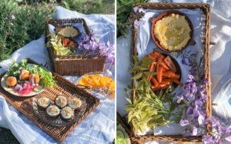 Menú para un picnic de festejo con mamá
