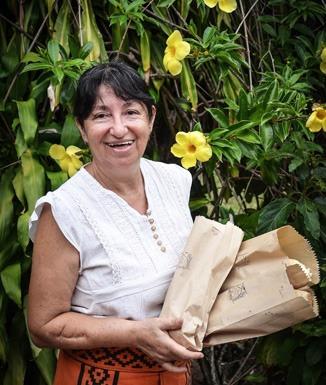 """Juanita Canteros: """"Mi primer acto de rebeldía fue hablar guaraní"""""""